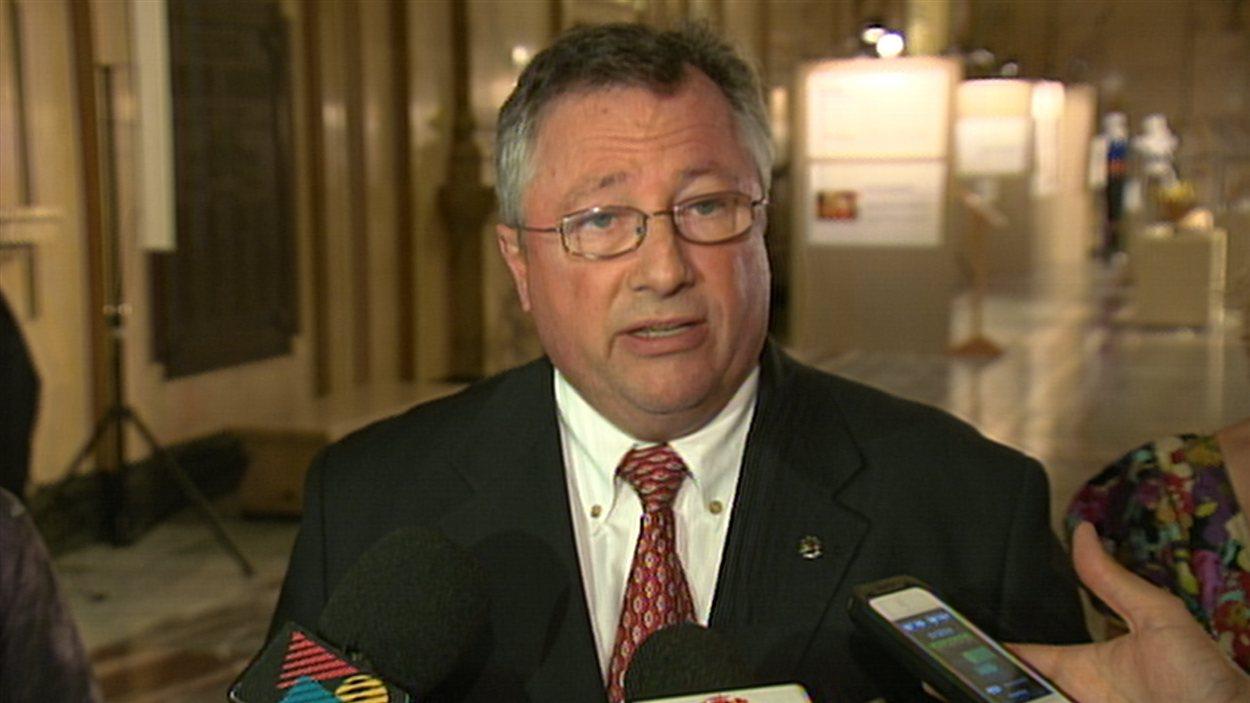 Richard Deschamps, vice-président du comité exécutif de la Ville de Montréal