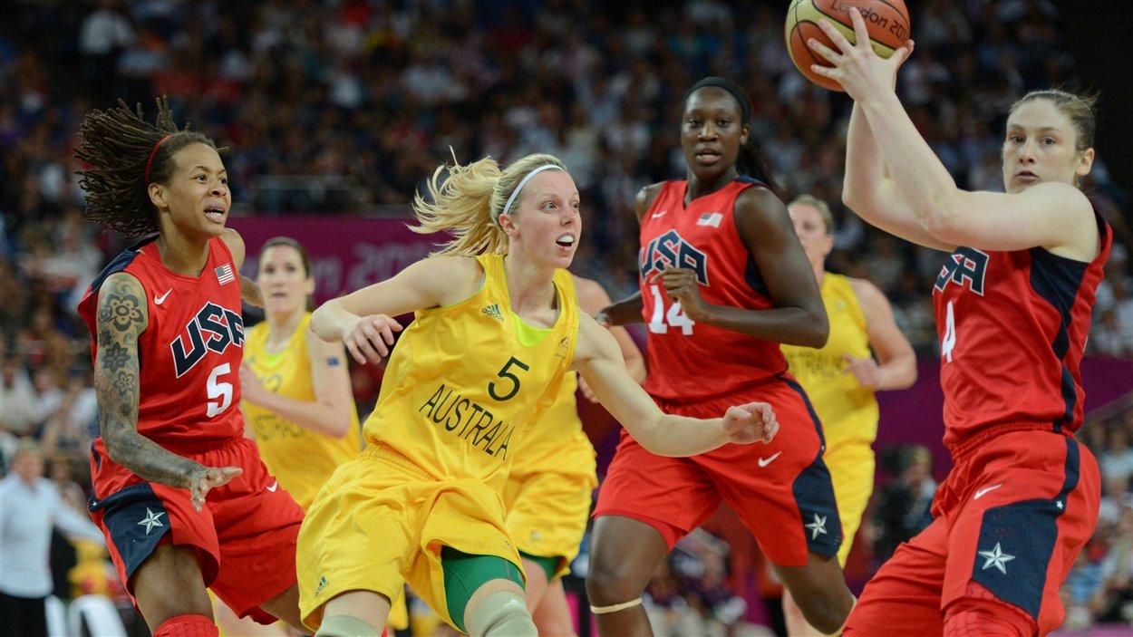 Les Australiennes ont défié les Américaines en demi-finales.