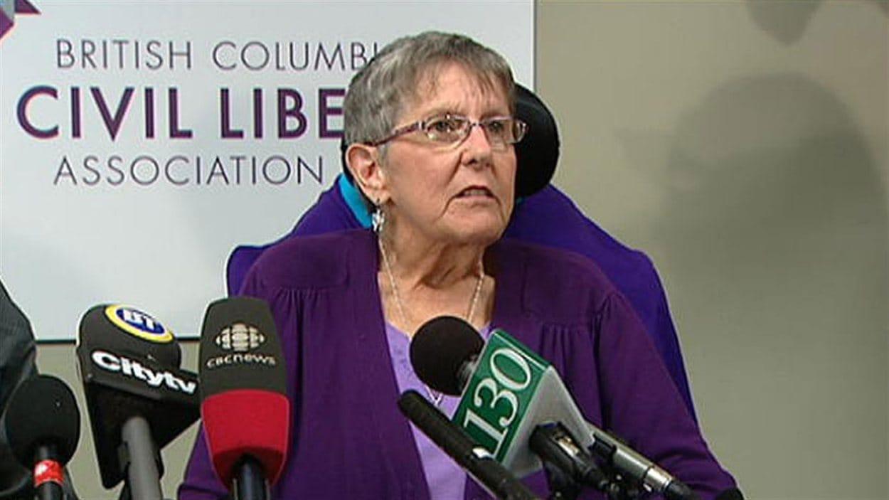 La Cour d'appel de la Colombie-Britannique rejette la demande du fédéral d'invalider le jugement de la Cour suprême provinciale sur le suicide assisté.
