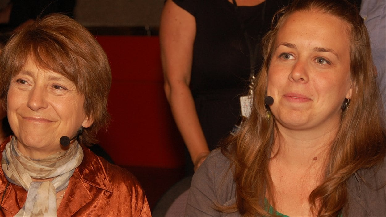 Françoise David et Martine Desjardins