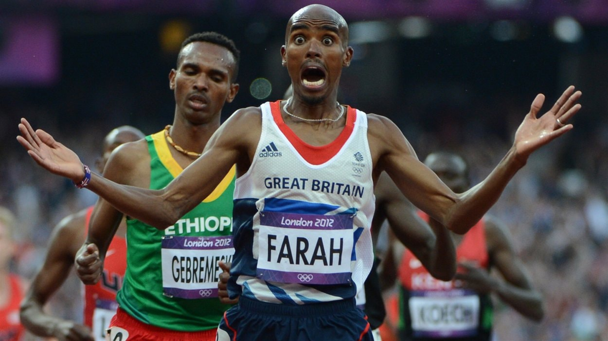 Mo Farah stupéfait de sa performance