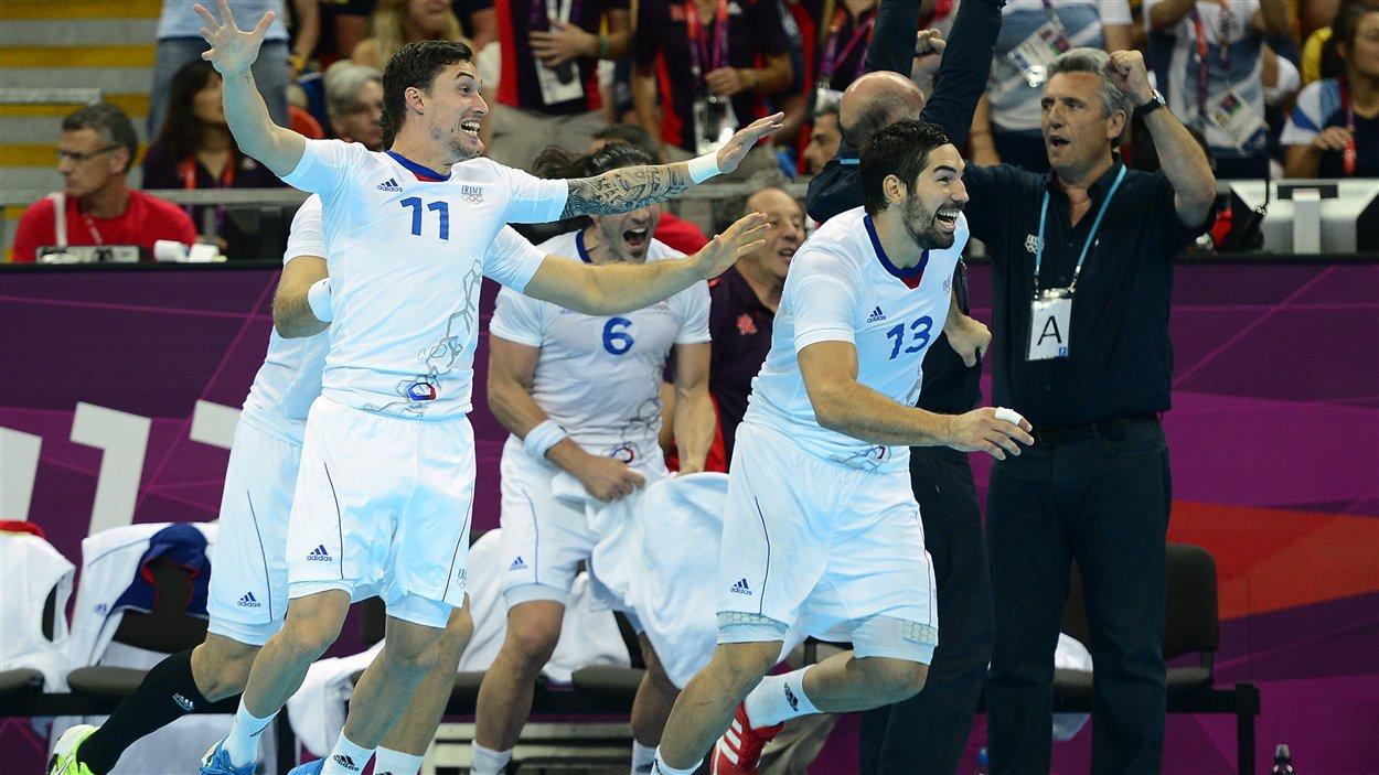 L'équipe française de handball