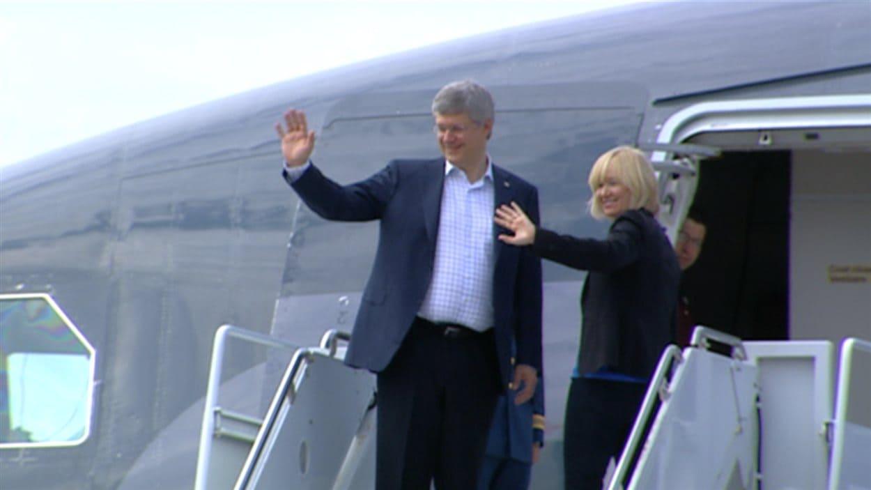Le premier ministre Stephen Harper dans le Grand Nord