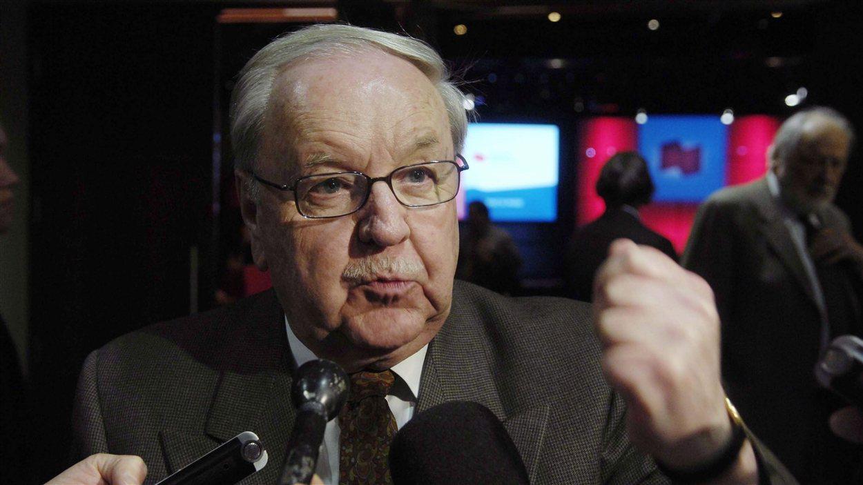 L'ancien député péquiste, Yves Michaud.