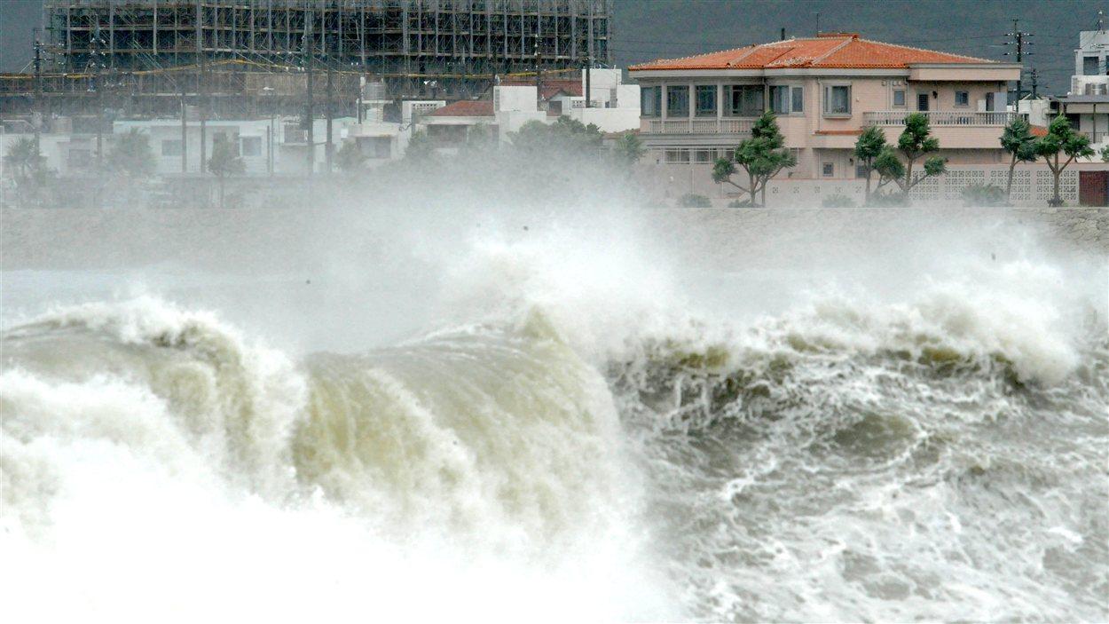 Le typhon Bolaven, le plus violent phénomène depuis plusieurs années.
