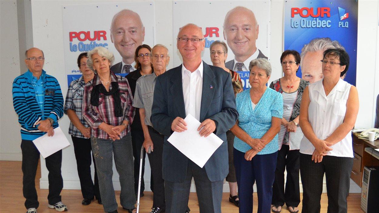 Le candidat libéral dans la circonscription d'Abitibi-Ouest, Claude Morin