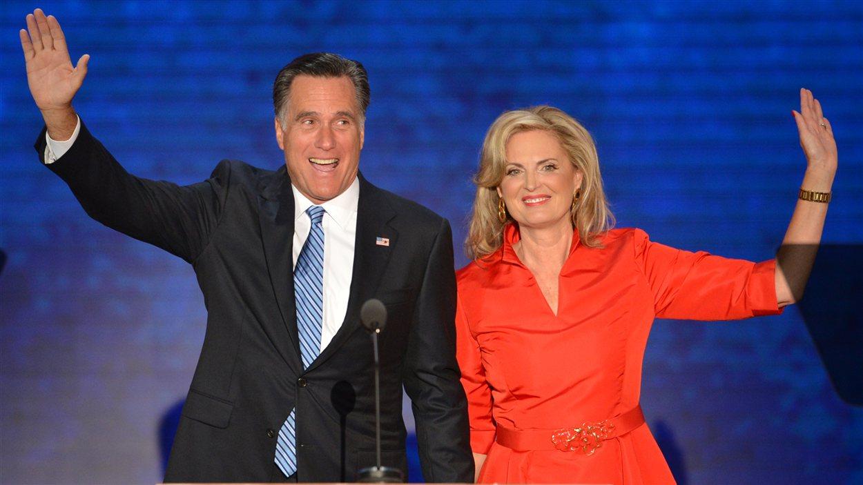 Mitt Romney et sa femme Ann