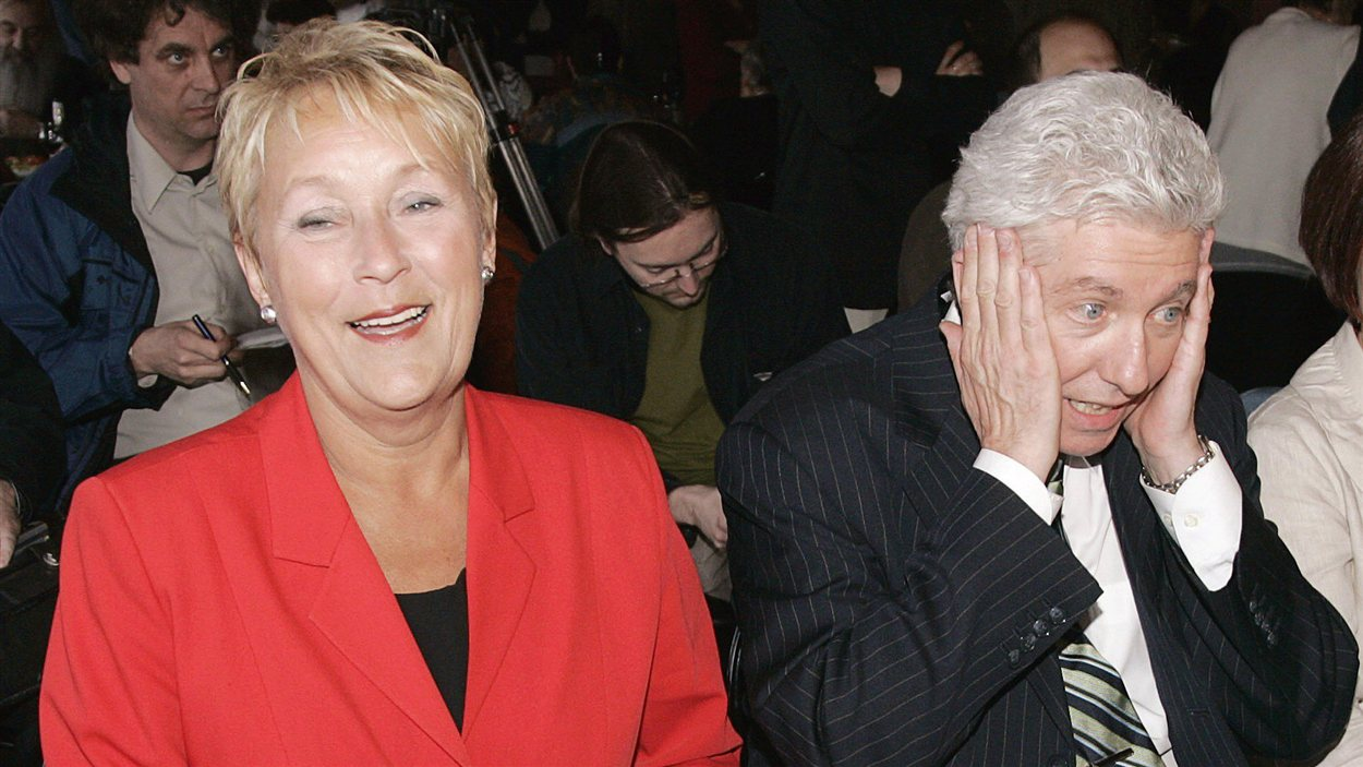 Pauline Marois est la seule candidate à la succession d'André Boisclair. Le chef du Bloc québécois, Gilles Duceppe, a décidé de ne pas se lancer dans la course à la direction. (2007)
