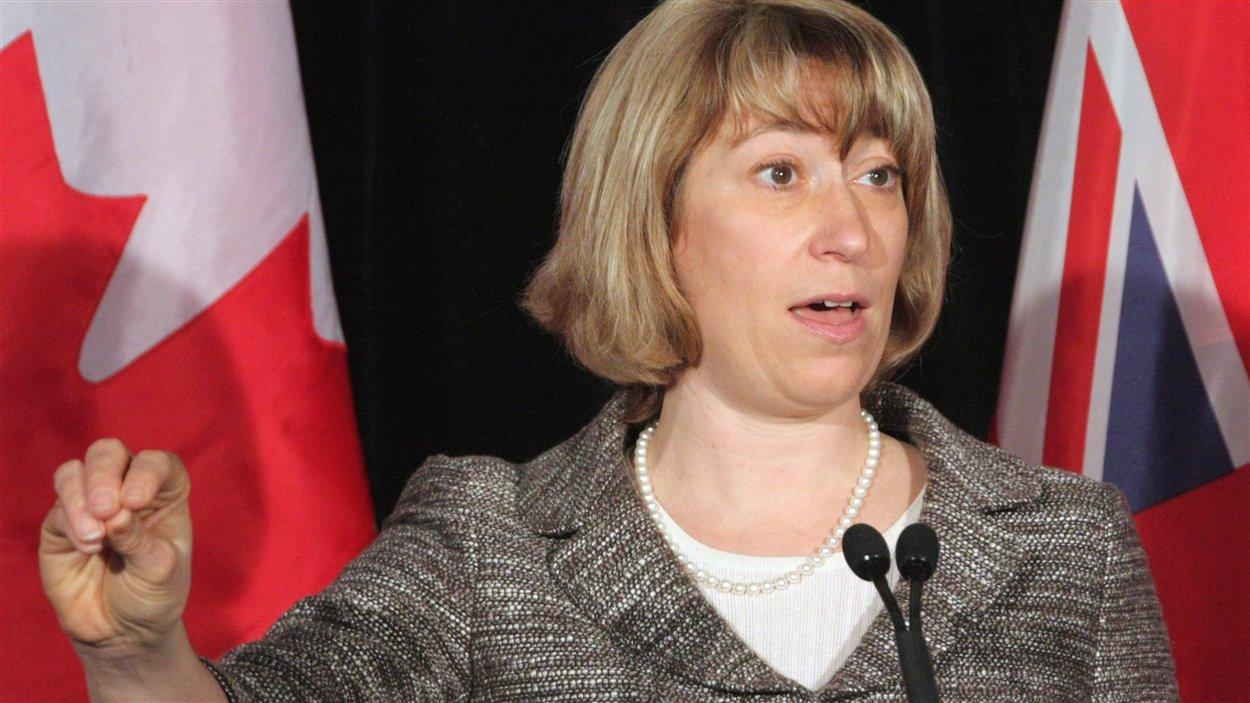 La ministre de l'Éducation, Laurel Broten