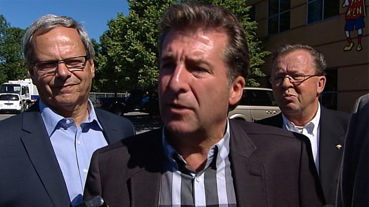 André Drolet, le candidat libéral dans Jean-Lesage.