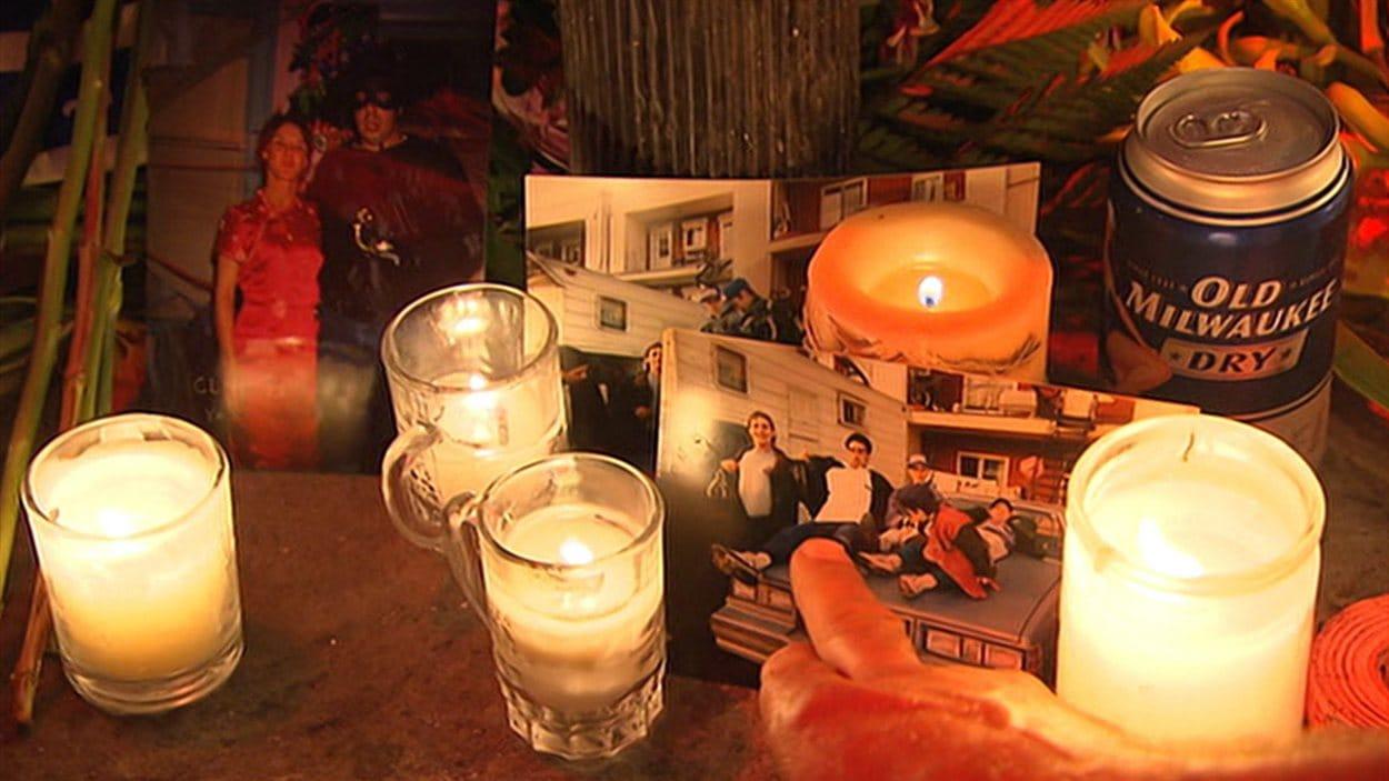 Vigile au Métropolis à la mémoire du technicien Denis Blanchette