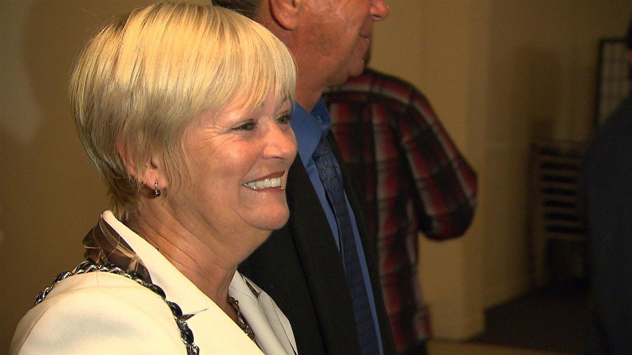 Lorraine Richard se réjouit de sa victoire
