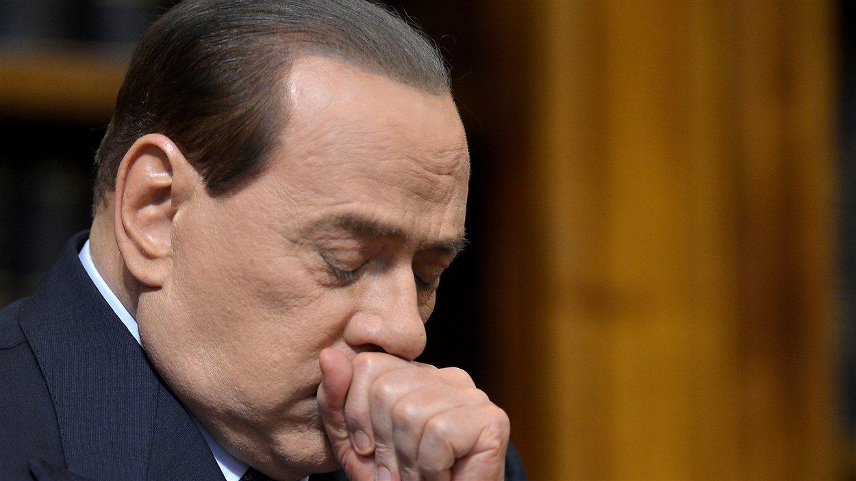 Silvio Berlusconi, ancien chef du gouvernement italien le 25 mai 2012