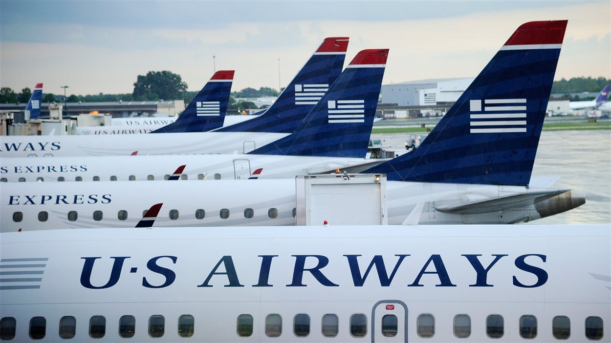 Des avions de la compagnie US Airways