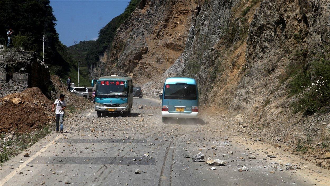 Tremblement de terre dans le sud-ouest de la Chine