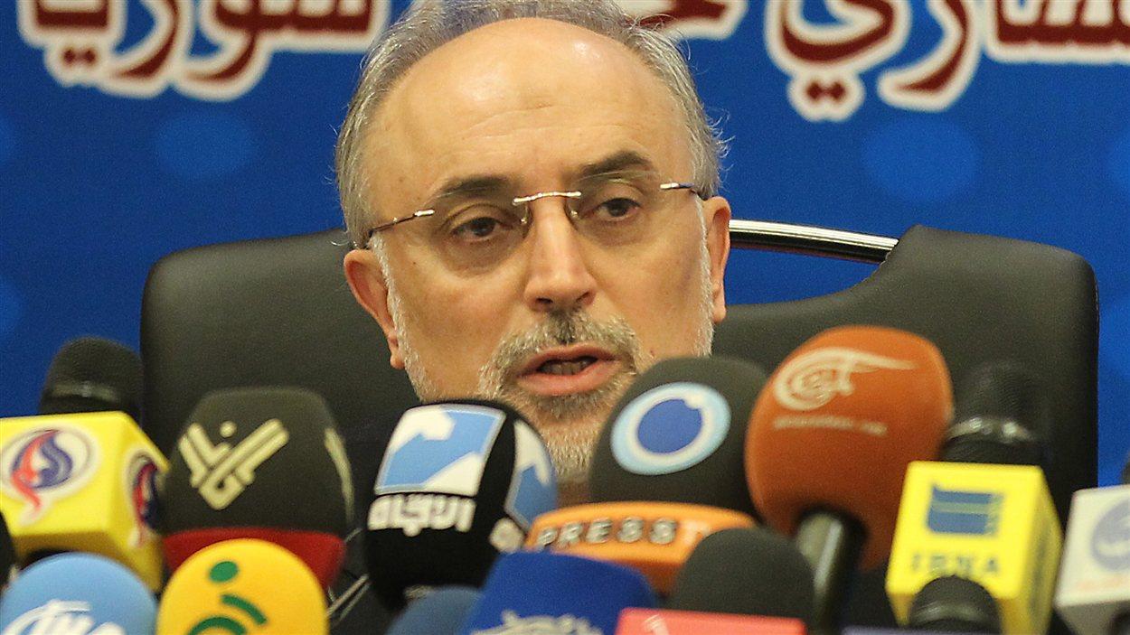 Ali Akbar Salehi, ministre iranien des Affaires étrangères