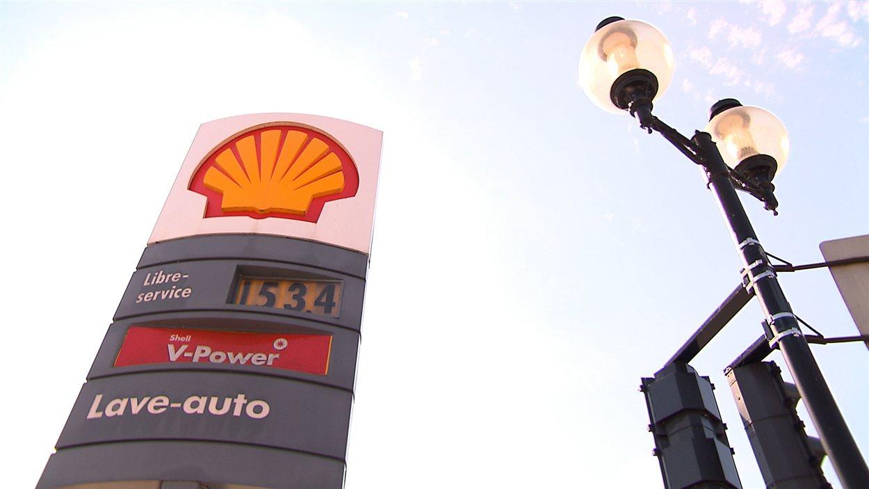 Prix de l'essence à Montréal (11 septembre 2012)