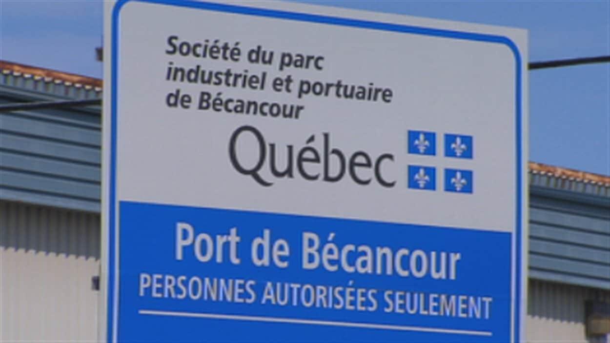 La Société du parc industriel et portuaire de Bécancour