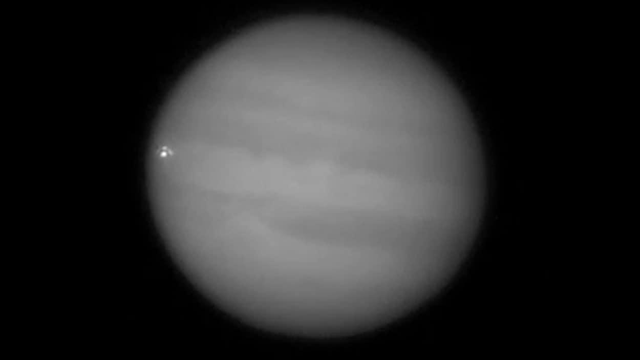 Un impact sur Jupiter
