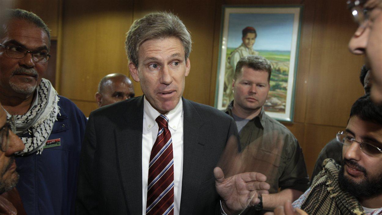 L'ambassadeur Christopher Stevens, tué dans l'attaque contre le consulat américain de Benghazi