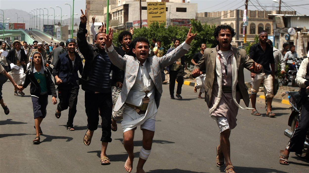 Manifestation au Yémen contre le film controversé