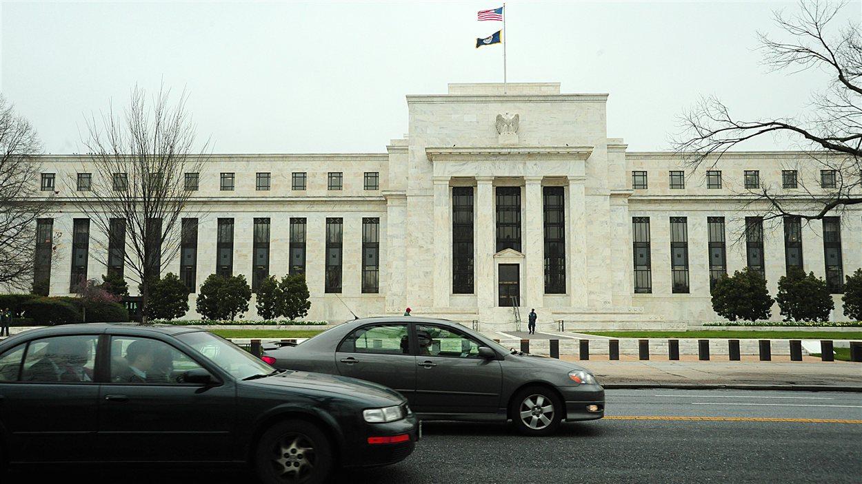 L'édifice de la Réserve fédérale américaine, à Washington.