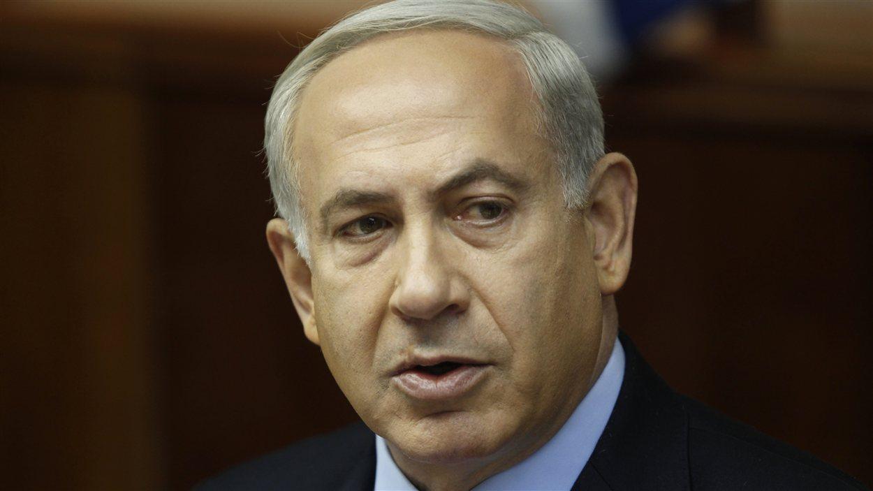 Benjamin Netanyahu, premier ministre d'Israël