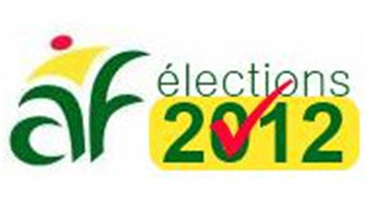 Le logo des élections 2012 de l'Assemblée communautaire fransaskoise