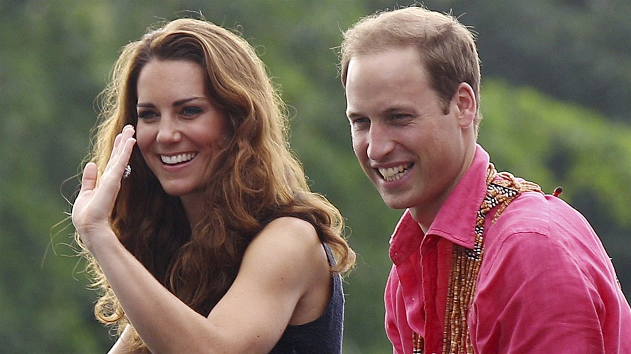 La duchesse de Cambridge, Kate Middleton, et son épou, le prince William.