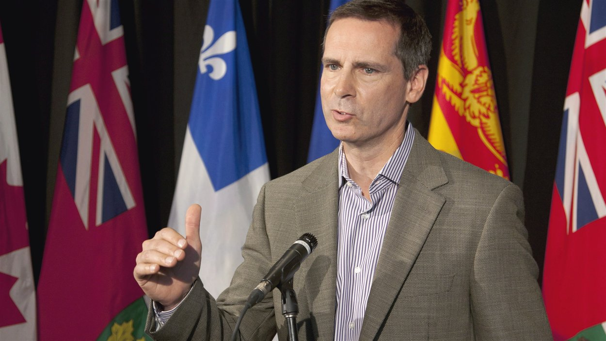 Le premier ministre de l'Ontario, Dalton McGuinty