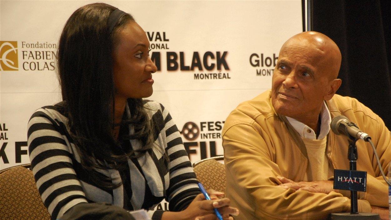 Fabienne Colas et Harry Belafonte