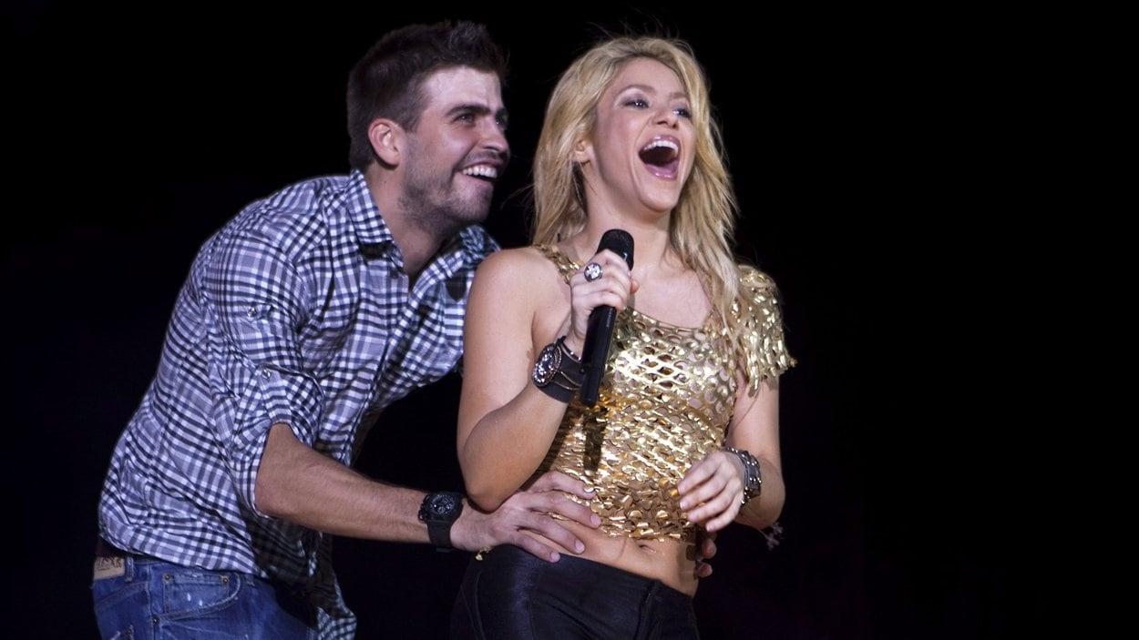 Gerard Pique et Shakira