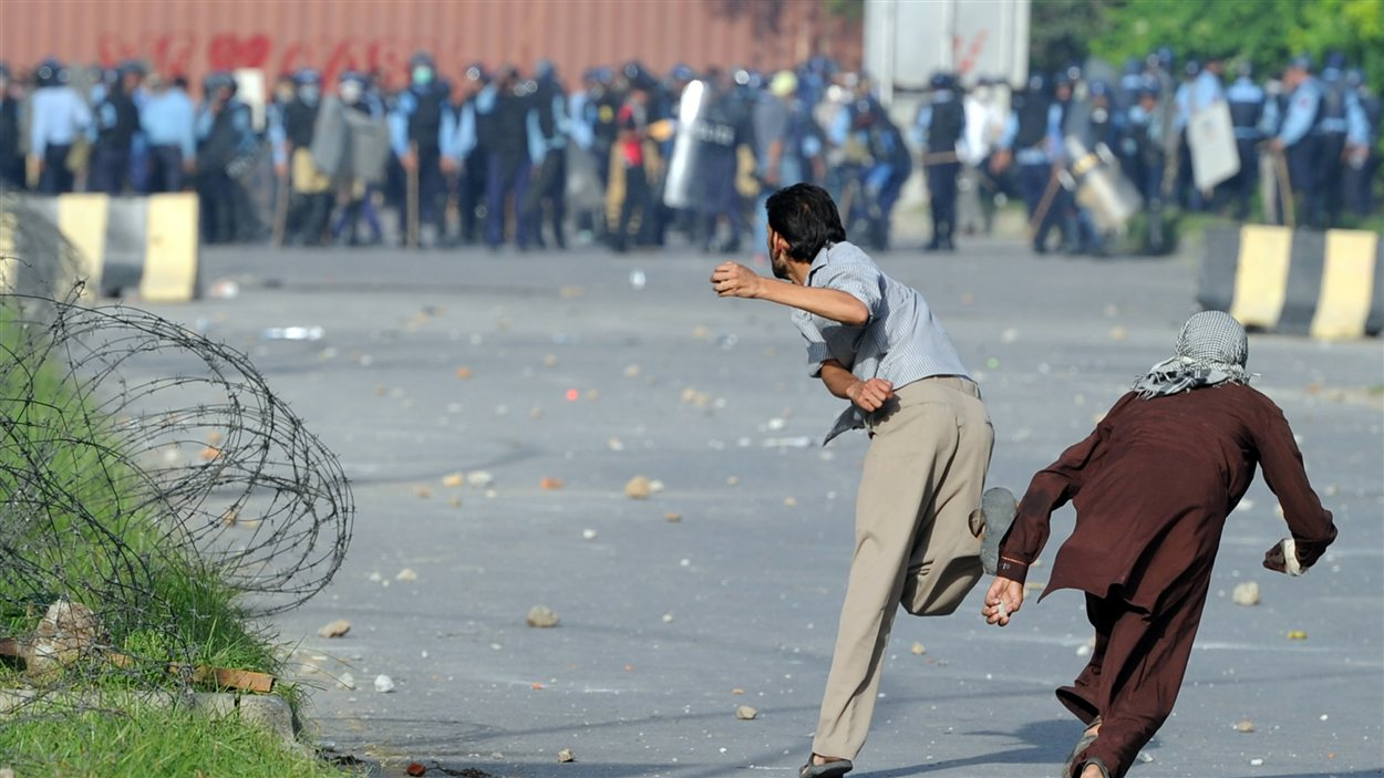 Manifestation à Islamabad, Pakistan