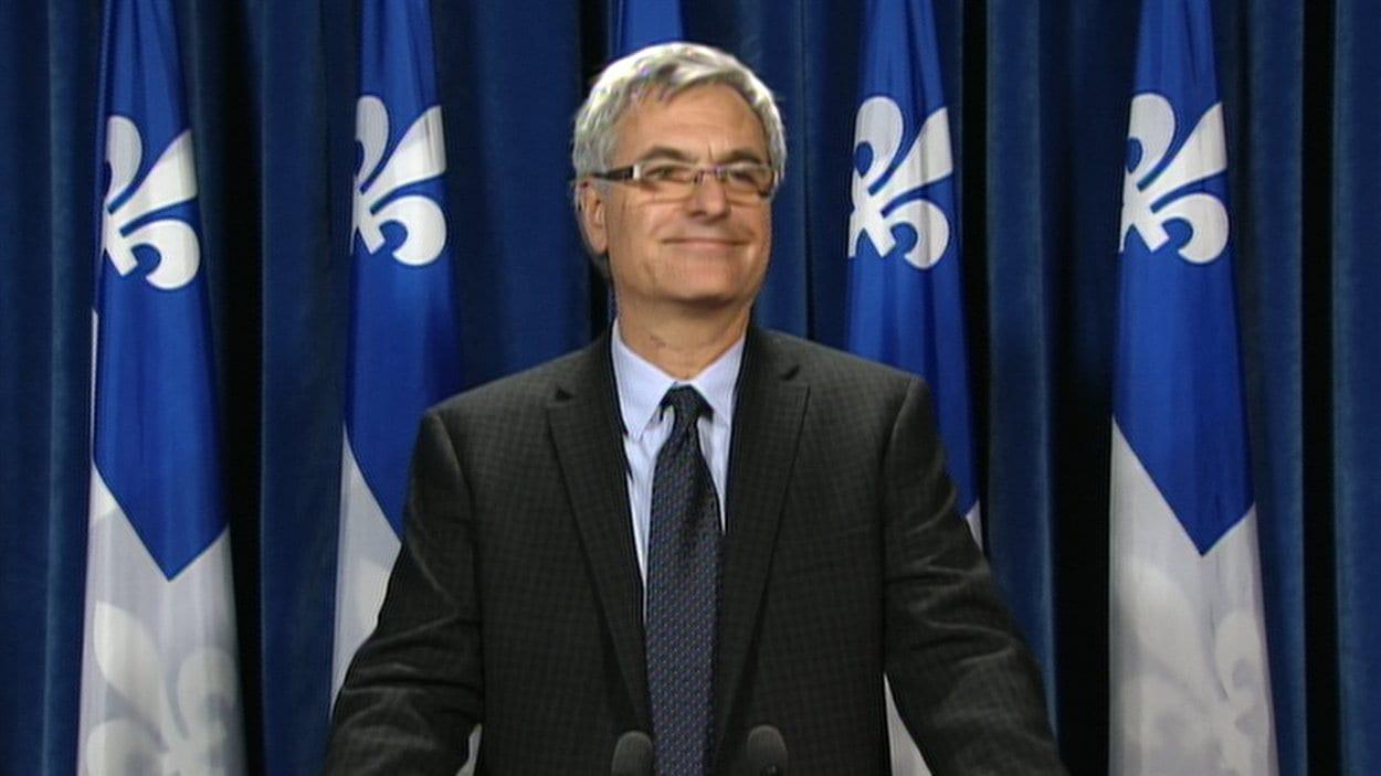 Le chef par intérim du Parti libéral du Québec, Jean-Marc Fournier