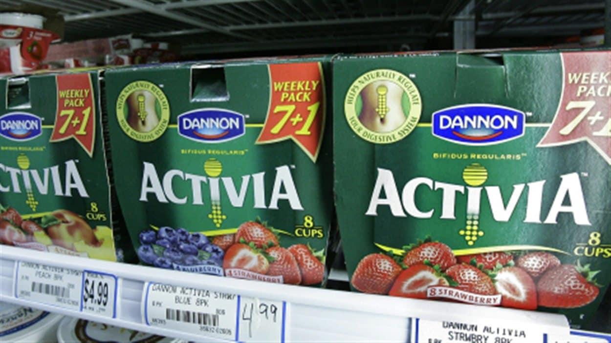 Le produit Activia de Danone
