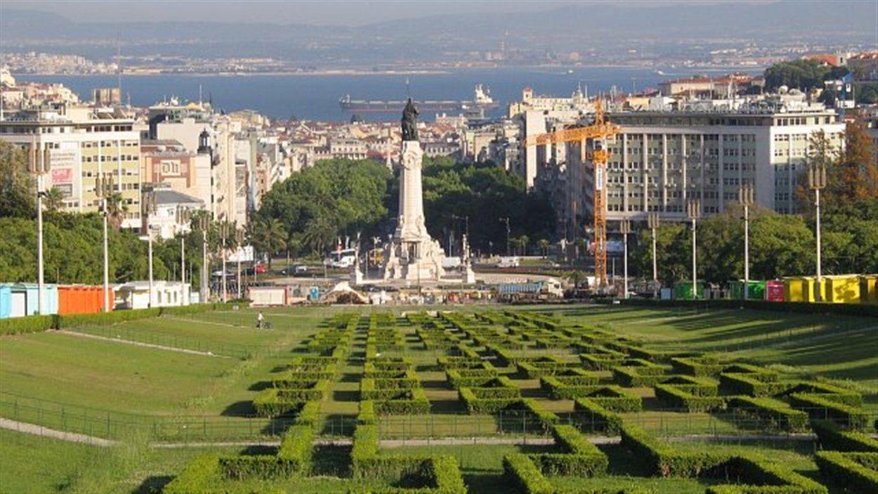 Le parc Eduardo Sétimo, à Lisbonne
