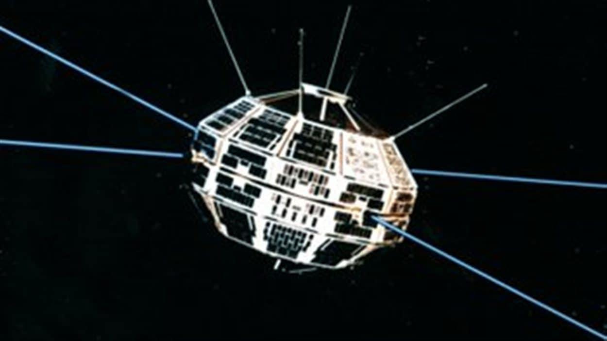 Le satellite Alouette 1