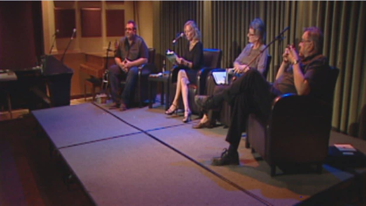 L'événement Gala de la parole, au Centre culturel franco-manitobain à Winnipeg, le jeudi 27 septembre 2012.