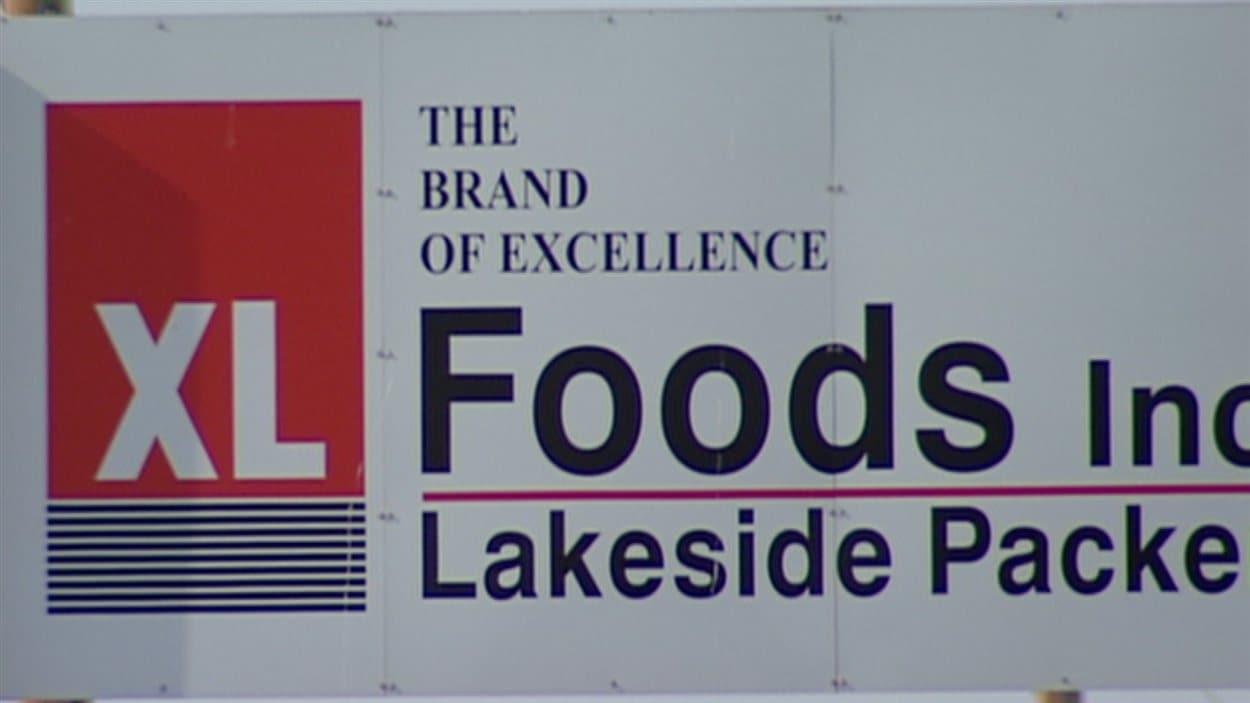 L'usine XL Foods de Lakeside