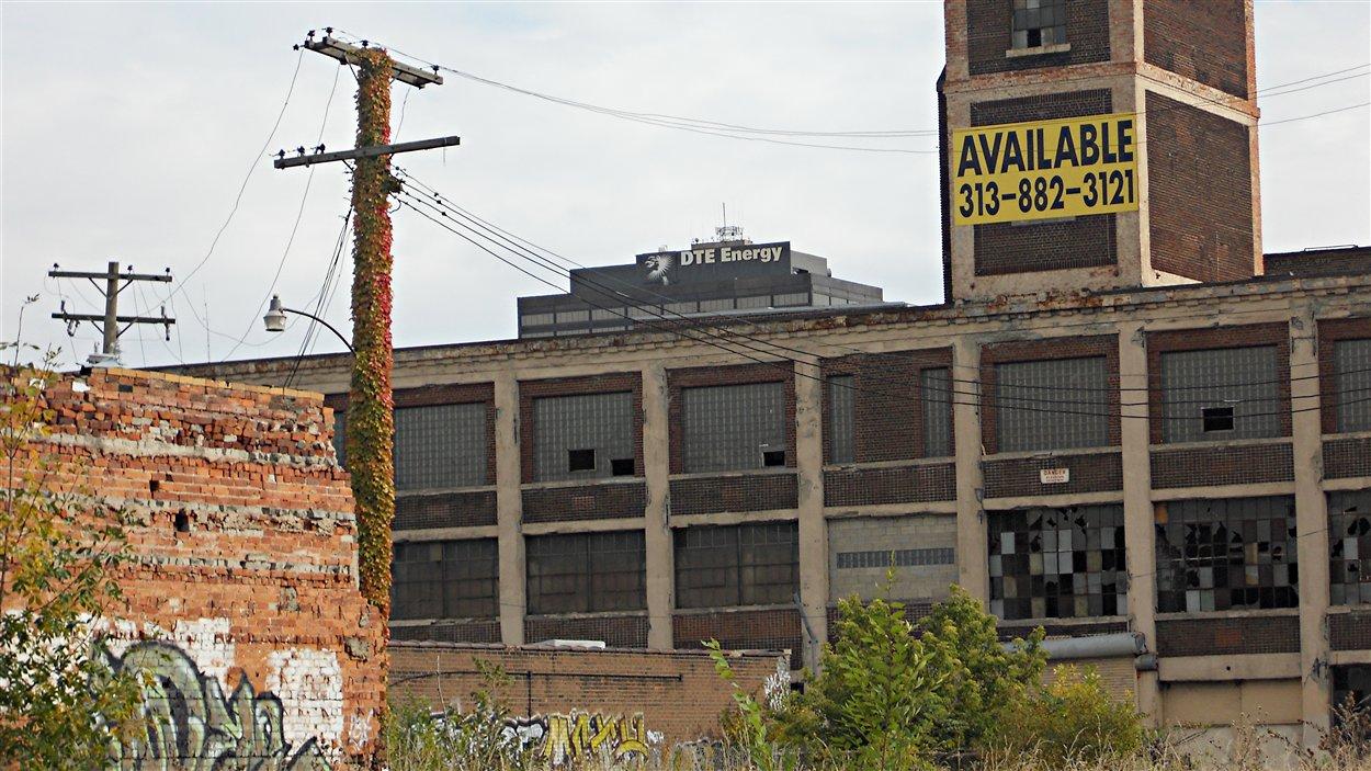 Detroit, des usines désaffectées