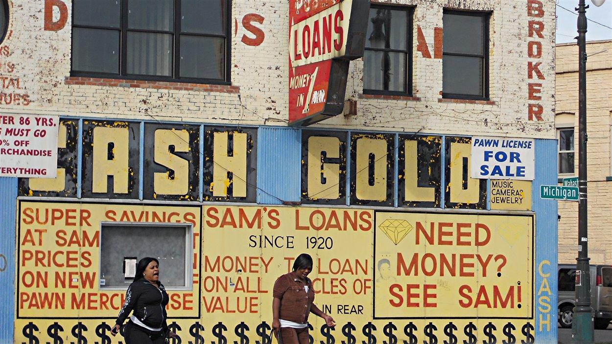 Détroit, même les prêteurs sur gages sont en faillite