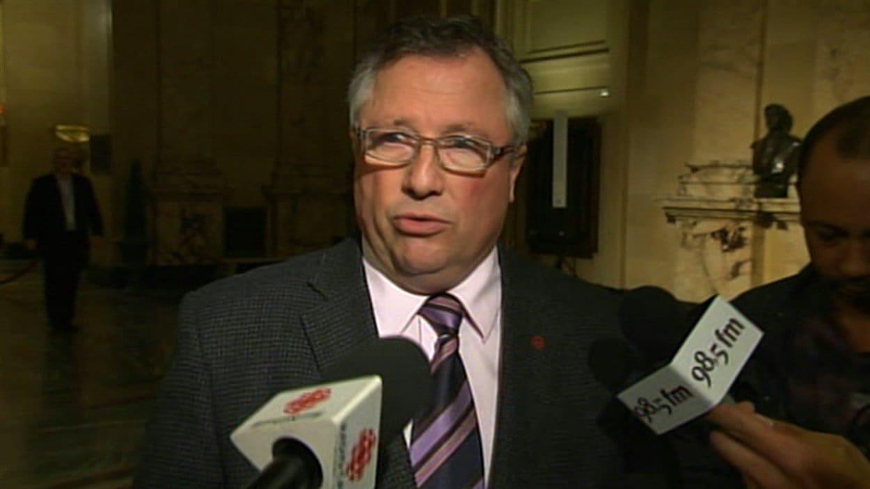 Le vice-président du comité exécutif de la Ville de Montréal et responsable des infrastructures, Richard Deschamps