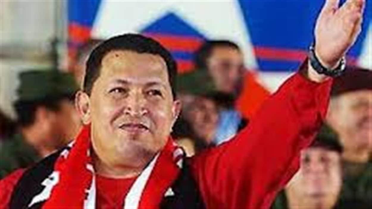 Le président vénézuélien Hugo Chavez