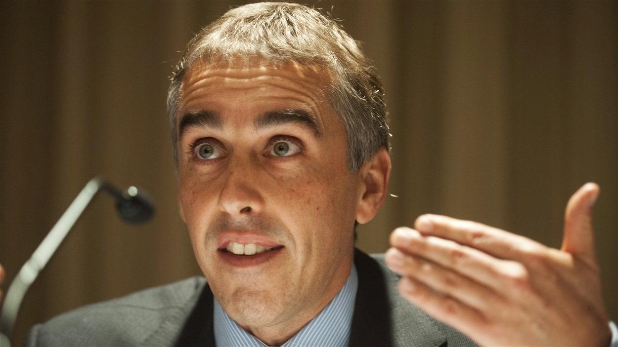 Le ministre des Finances du Québec, Nicolas Marceau.