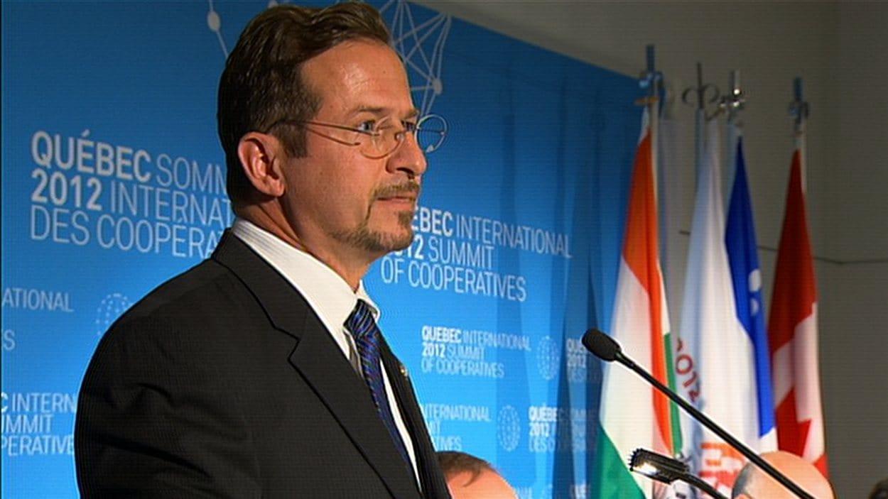 Yves-François Blanchet, ministre responsable de la Mauricie