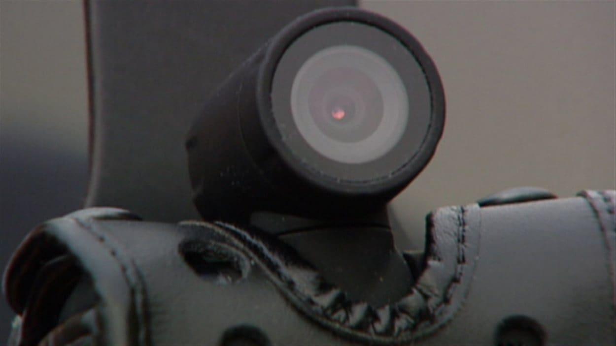 Équipement à caméraBWV pour la police d'Edmonton