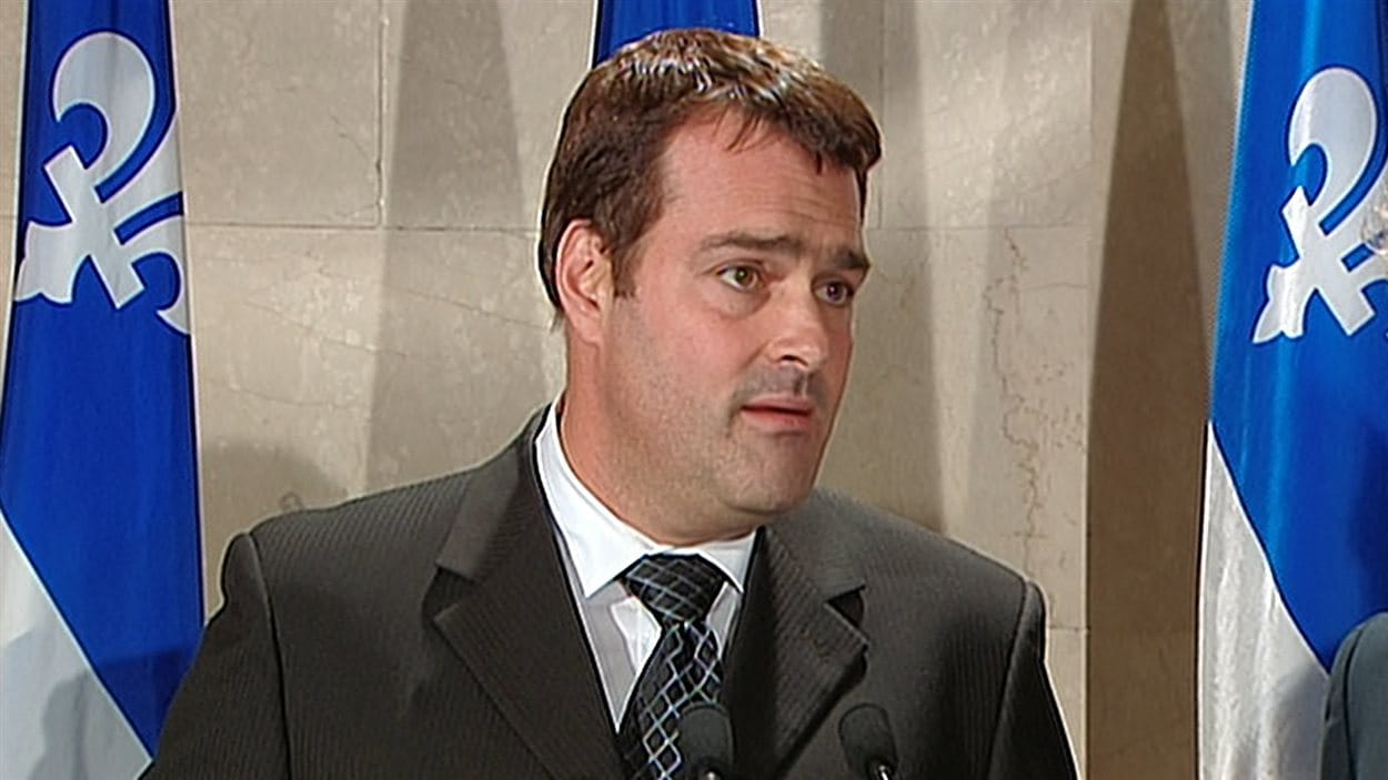 L'ex-ministre libéral du Travail David Whissell