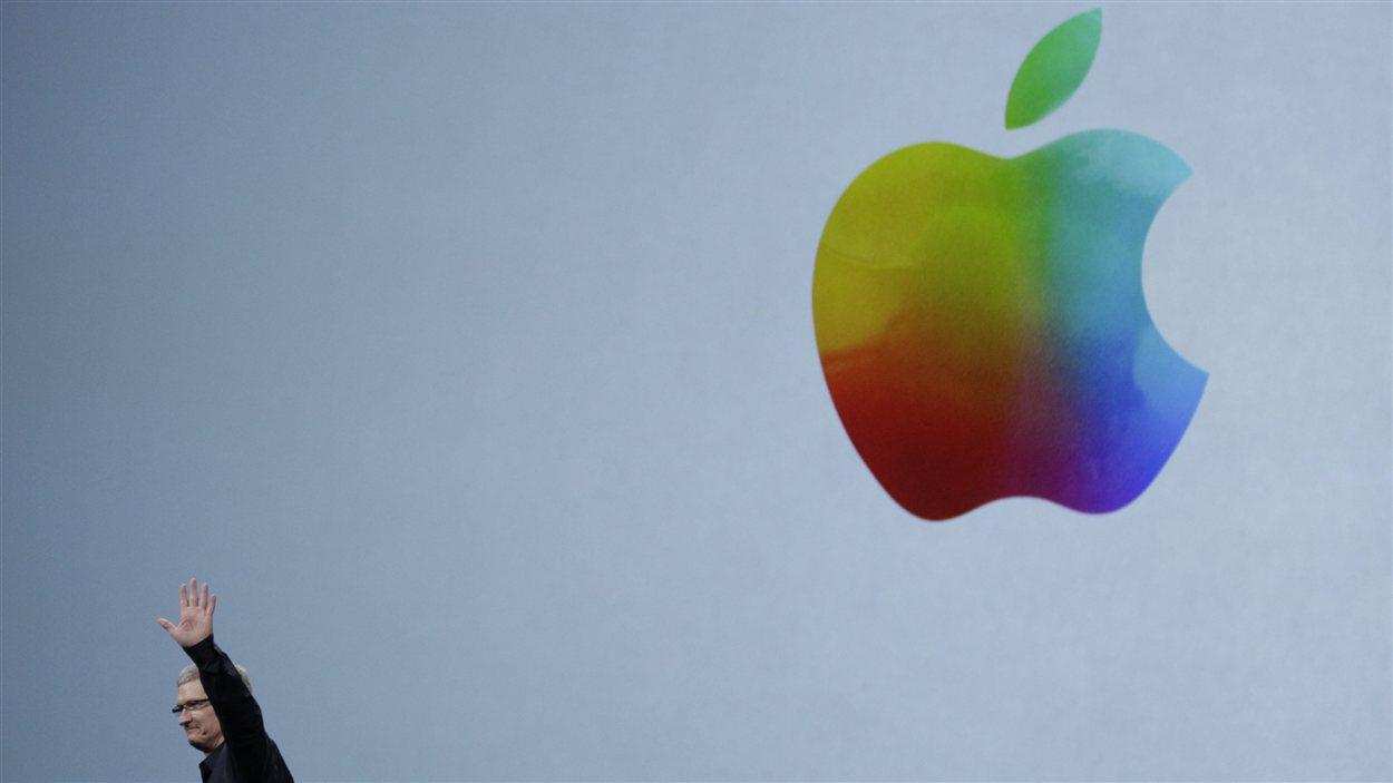 Le PDG d'Apple, Tim Cook