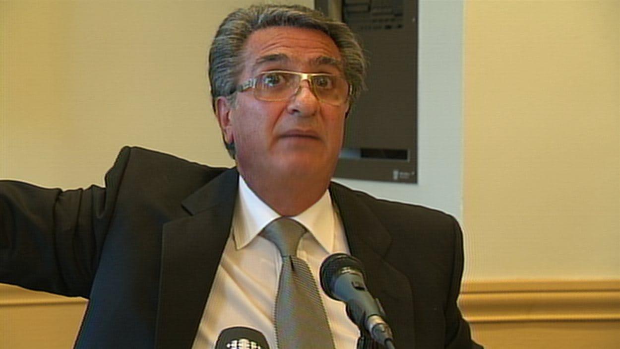 L'ex-directeur de la Ville de Montréal Robert Abdallah