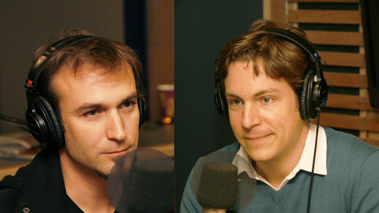 Raphael Lacoste et Maxime Goulet | © Radio-Canada / Philippe Couture
